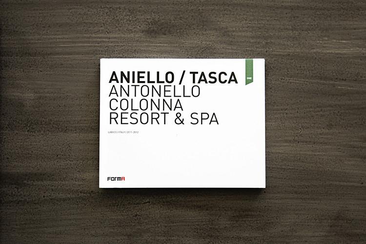 Forma monografia AntonelloColonnaResort Tasca Aniello